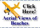 Aerial Views of the Tampa Bay Gulf Beaches in Florida